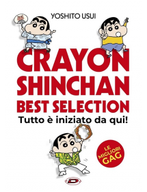 CRAYON SHINCHAN BEST COLLECTION TUTTO E' INIZIATO DA QUI