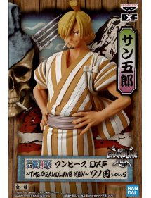 ONE PIECE THE GRANDLINE MEN ONE PIECE - MOVIE DXF - VOL.5 - WANOKUNI - SANJI - 17CM