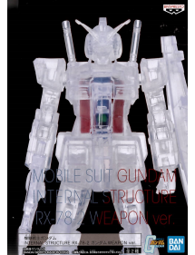 MOBILE SUIT GUNDAM INTERNAL STRUCTURE RX-78 W/ WEAPON (VARIANT COLOR VER.) 14CM