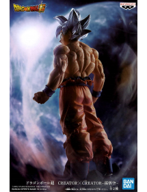 DRAGON BALL CREATORXCREATOR SON GOKU ULTRA INSTINCT VER.B - 19CM