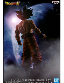 DRAGON BALL CREATORXCREATOR SON GOKU ULTRA INSTINCT VER.A - 19CM