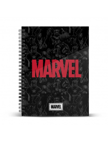 NOTEBOOK MARVEL LOGO A4 (21 cm x 29,7 cm)