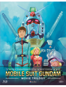 MOBILE SUIT GUNDAM MOVIE TRILOGY BLU-RAY