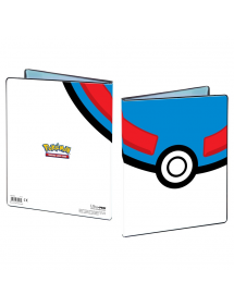 BUSTINE COPRI CARTE ALBUM 9 TASCHE PORTFOLIO POKEMON GREAT BALL