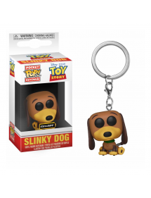 POP POCKET KEYCHAIN TOY STORY - SLINKY DOG