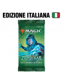 MAGIC LA RINASCITA DI ZENDIKAR BUSTINA 15 CARTE