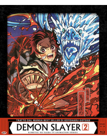 DEMON SLAYER BOX 2 BLU RAY EDIZIONE LIMITATA E NUMERATA