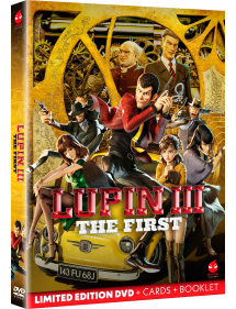 LUPIN THE FIRST DVD LIMITED EDITION