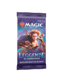 MAGIC LEGGENDE DI COMMANDER BUSTINA 20 CARTE