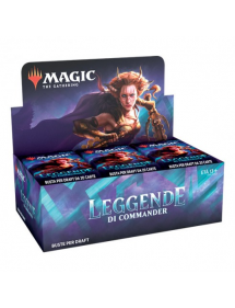 MAGIC LEGGENDE DI COMMANDER BOX 24 BUSTINE