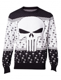 MARVEL PUNISHER MAGLIONE DI NATALE TG.XL