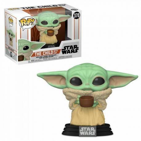 POP STAR WARS 378 THE CHILD WITH CUP