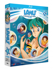 LAMU' THE MOVIE LA SERIE BOX BLU-RAY