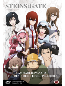STEINS GATE BOX DVD SERIE COMPLETA