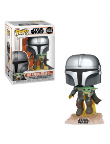 POP STAR WARS 402 THE MANDALORIAN - THE MANDALORIAN WITH THE CHILD JET