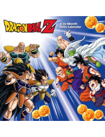 CALENDARI 2021 DRAGON BALL Z 16MESI ENGLISH VERSION