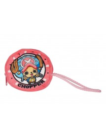 ONE PIECE PORTAMONETE PELUCHE 10X10CM CHOPPER
