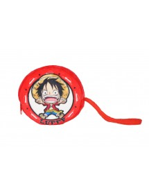 ONE PIECE PORTAMONETE PELUCHE 10X10CM LUFFY
