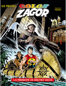 ZAGOR COLOR 12 LA MISSIONE DI DRUNKY DUCK