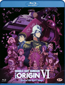 MOBILE SUIT GUNDAM THE ORIGIN 6 BLU RAY RISE OF THE RED COMET