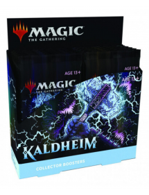 MAGIC KALDHEIM COLLECTOR BOOSTER 12 BUSTINE DA 15 CARTE