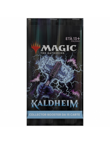 MAGIC KALDHEIM COLLECTOR BOOSTER BUSTINA 15 CARTE
