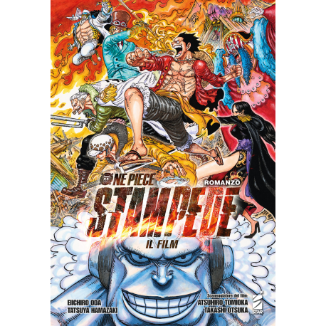 ONE PIECE ROMANZO STAMPEDE
