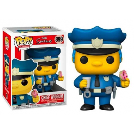 POP TELEVISION 899 THE SIMPSON - CHIEF WIGGUM