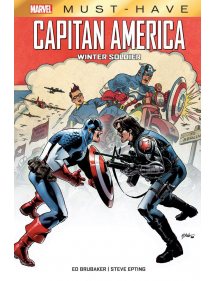 MARVEL MUST-HAVE CAPITAN AMERICA WINTER SOLDIER
