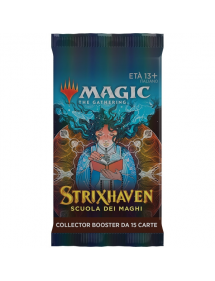 MAGIC STRIXHAVEN SCUOLA DEI MAGHI COLLECTOR BOOSTER 15 CARTE IN ITALIANO