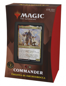 MAGIC STRIXHAVEN SCUOLA DEI MAGHI COMMANDER DECK