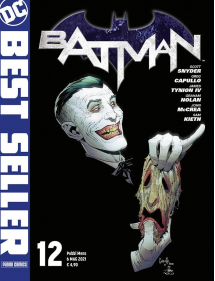 DC BEST SELLER BATMAN 12 BATMAN DI SNYDER & CAPULLO