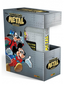 TOPOLINO METAL EDITION 1 COFANETTO + 1 METAL EDITION