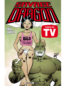 SAVAGE DRAGON 40 VISTO IN TV