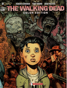 WALKING DEAD COLOR EDITION 3 VARIANT