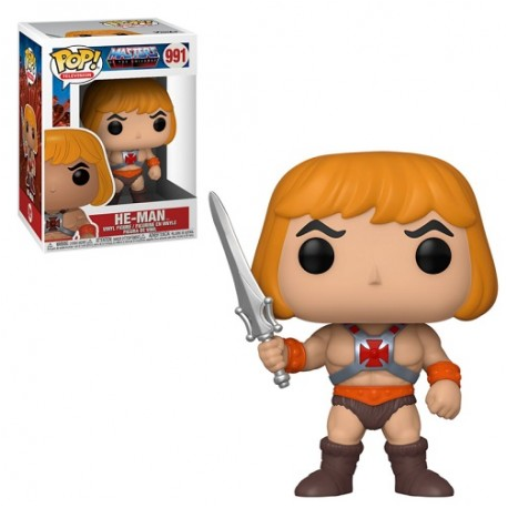 POP TELEVISION 991 MASTERS OF THE UNIVERSE - HE-MAN
