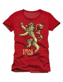 T-SHIRT  GAMES OF THRONES LANNISTER HEAR ME ROAR TG L