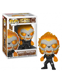 POP MARVEL 860 INFINITY WARPS - GHOST PANTHER