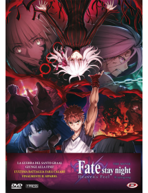 FATE STAY NIGHT HEAVEN'S FEEL THE MOVIE 3 DVD SPRING SONG