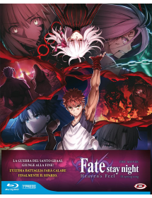 FATE STAY NIGHT HEAVEN'S FEEL THE MOVIE 3 BLU-RAY SPRING SONG