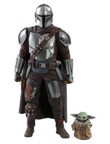 HOT TOYS STAR WARS - THE MANDALORIAN & THE CHID 30 CM