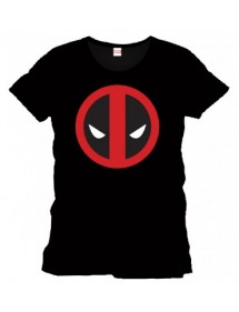 T-SHIRT  DEADPOOL LOGO TG.L